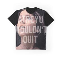 Atreyu Would't Quit Graphic T-Shirt