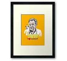 I Love Custard - Walter Bishop - Fringe Framed Print