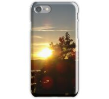 Sunset by the Ocean iPhone Case/Skin
