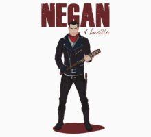 Negan & Lucille One Piece - Short Sleeve