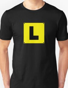 L plate Learner Driver T-Shirt