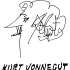 Kurt Vonnegut by Talierch