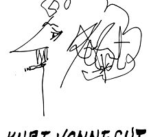 Kurt Vonnegut by Talierch