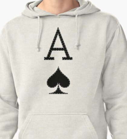 Letter A - Ace Pullover Hoodie