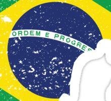 Brazilian Flag - BJJ Sticker