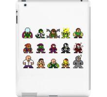 8-bit Spider-Man & Foes iPad Case/Skin
