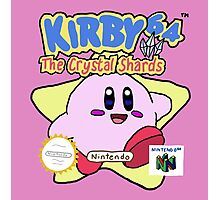 Kirby - The Crystal Shards  Photographic Print