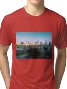 Dallas Skyline Tri-blend T-Shirt