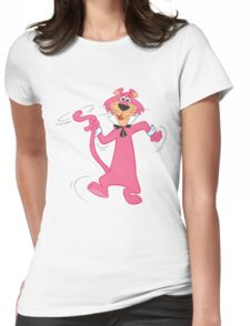 Snagglepuss  Womens Fitted T-Shirt
