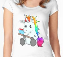 Psycho Unicorn Women's Fitted Scoop T-Shirt