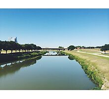 Fort Worth Trinity River Photographic Print