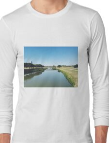 Fort Worth Trinity River Long Sleeve T-Shirt