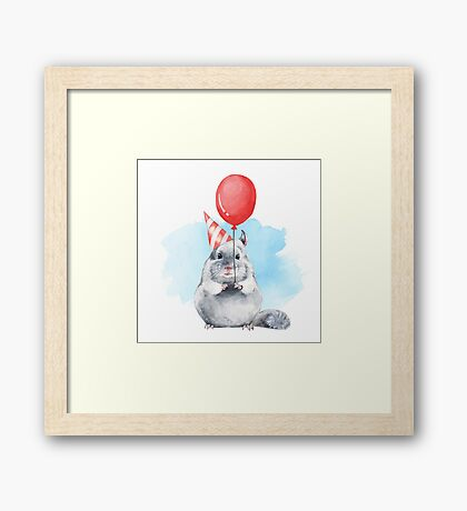 Festive mood Framed Print