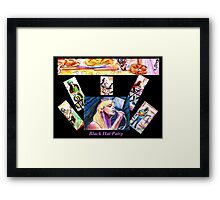 Black Hat Patsy Framed Print