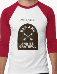 Maps and Atlases Men's Baseball ¾ T-Shirt
