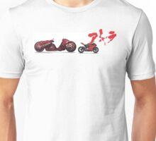 AKIRA MOTO BIKE vs DUCATI SPORT panigale Katsuhiro Ōtomo future design Unisex T-Shirt