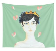 Princesse Ne m'Oublie Pas - Princess Don't Forget Me Wall Tapestry