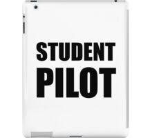 Student Pilot Caution iPad Case/Skin