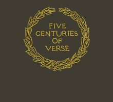 Five Centuries of Verse (Ochre) Unisex T-Shirt