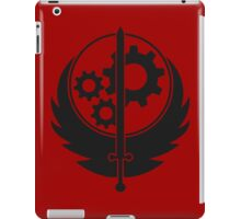 Brotherhood of Steel Emblem (Black) iPad Case/Skin