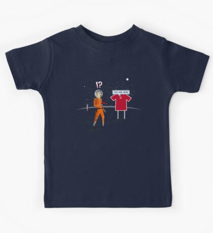 Welcome to Planet T Kids Tee