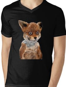 GEOFF STONED FOX TAXIDERMY MEME ADELE MORSE Mens V-Neck T-Shirt