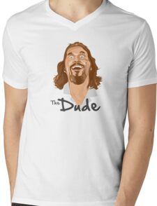 The Big Lebowski Mens V-Neck T-Shirt