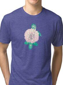 Clover Flower Tri-blend T-Shirt