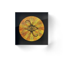 Eye of Egypt Acrylic Block