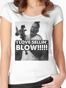 I LOVE SELLIN' BLOW!!!!!!!!! Women's Fitted Scoop T-Shirt