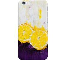 Lemon Scented Fruit iPhone Case/Skin