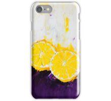 Lemon Scented Fruit iPhone Case/Skin