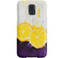 Lemon Scented Fruit Samsung Galaxy Case/Skin