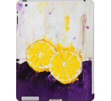 Lemon Scented Fruit iPad Case/Skin