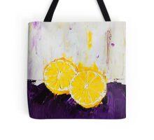 Lemon Scented Fruit Tote Bag