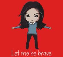 Let me be brave One Piece - Short Sleeve
