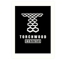Torchwood institute - dr who Art Print