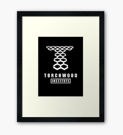 Torchwood institute - dr who Framed Print