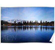 "The Remarkable""s"" Lake Wakatipu Poster"