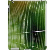 Web Of The Orb Weaver iPad Case/Skin