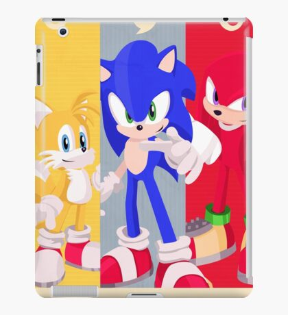 Team Sonic - Sonic the Hedgehog iPad Case/Skin