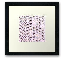 A lovely bunch of cupcakes Framed Print