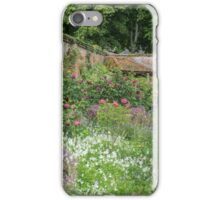 Summer border in a Walled English Garden iPhone Case/Skin