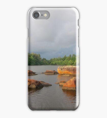 Shiny Lakeside Resort iPhone Case/Skin