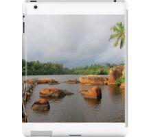 Shiny Lakeside Resort iPad Case/Skin