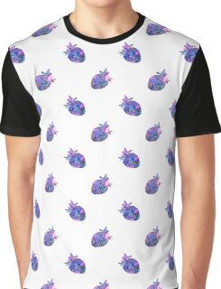 Bright watercolor strawberry, galaxy berries Graphic T-Shirt