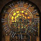 Vintage Steampunk Clock No.7, Steampunk Clock Tower Inner Workings by Steve Crompton