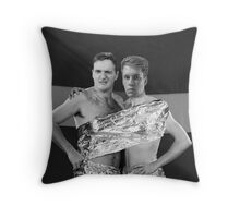 ABBA Photoshop Throw Pillow