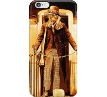 Anarchist:No King - On the Train iPhone Case/Skin