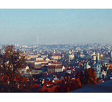 Prague- The City That Inspires Photographic Print